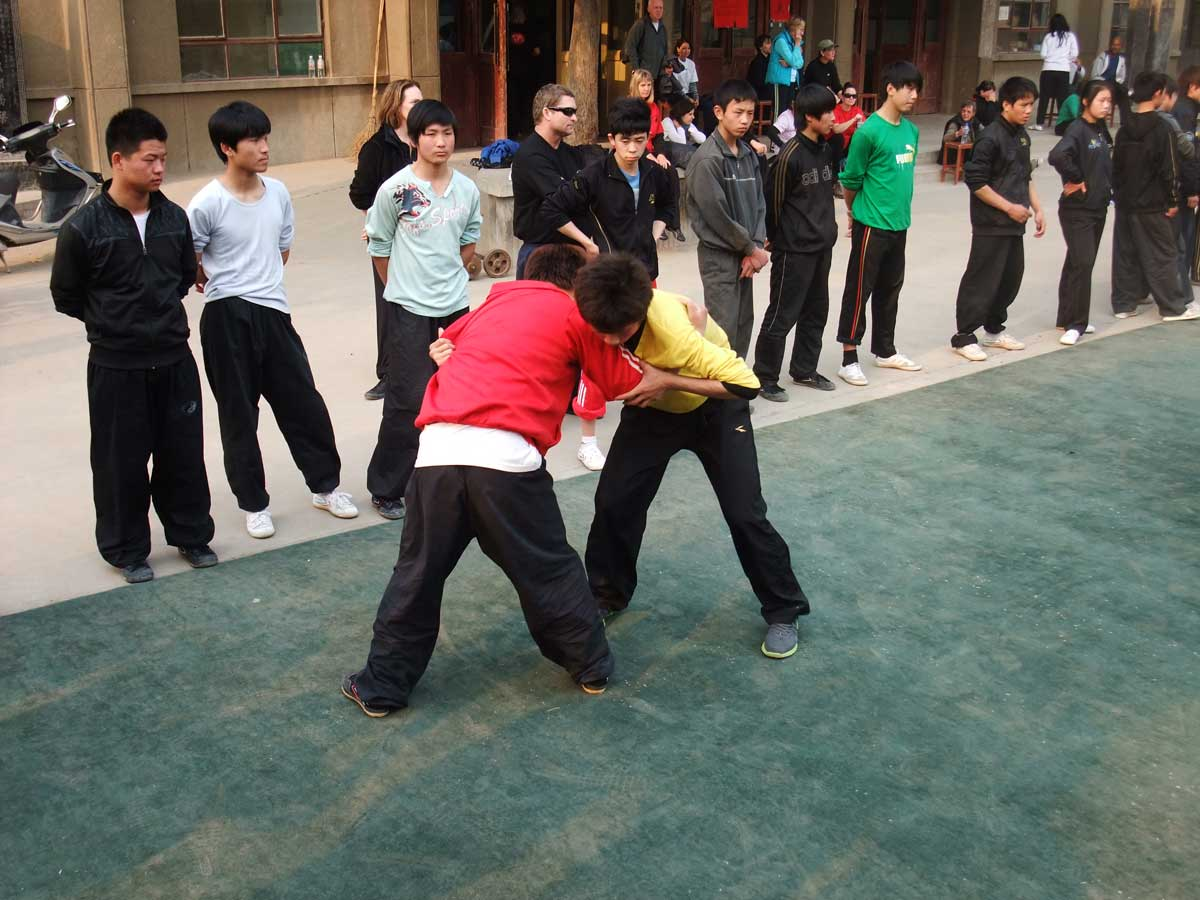 Chenjiagou Tai Chi training