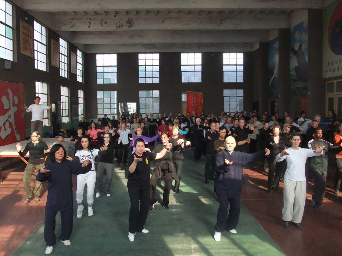 Chenjiagou Tai Chi seminar
