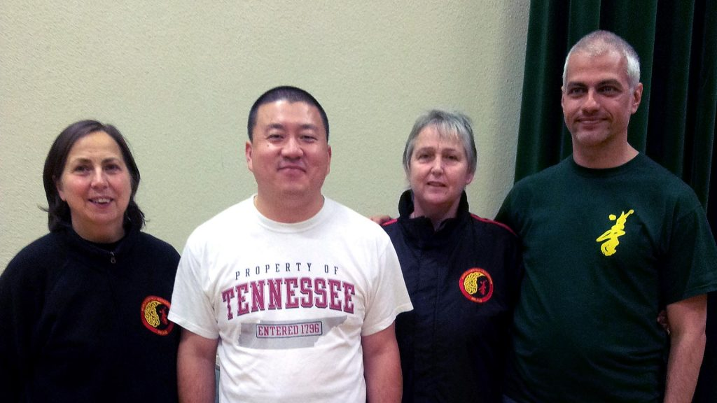 Ireland, with Master Chen Yingjun
