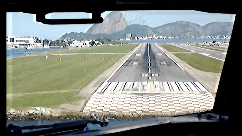 Landing a 737 in Rio